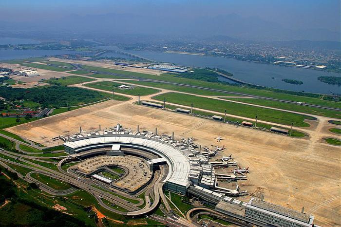 4d67df4e7e794 Terminal de Passageiros 2 - Aeroporto Internacional Antonio Carlos Jobim  Galeão (Terminal Internacional)