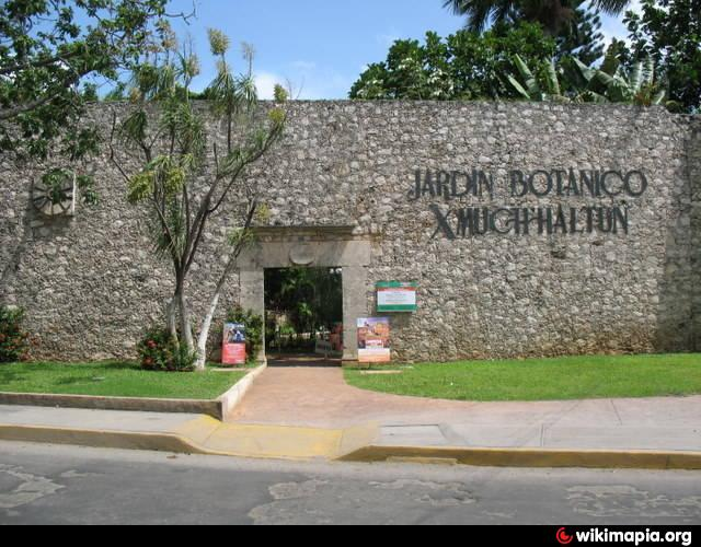Jardin botanico xmuch halt n baluarte de santiago campeche for Jardin japones de santiago