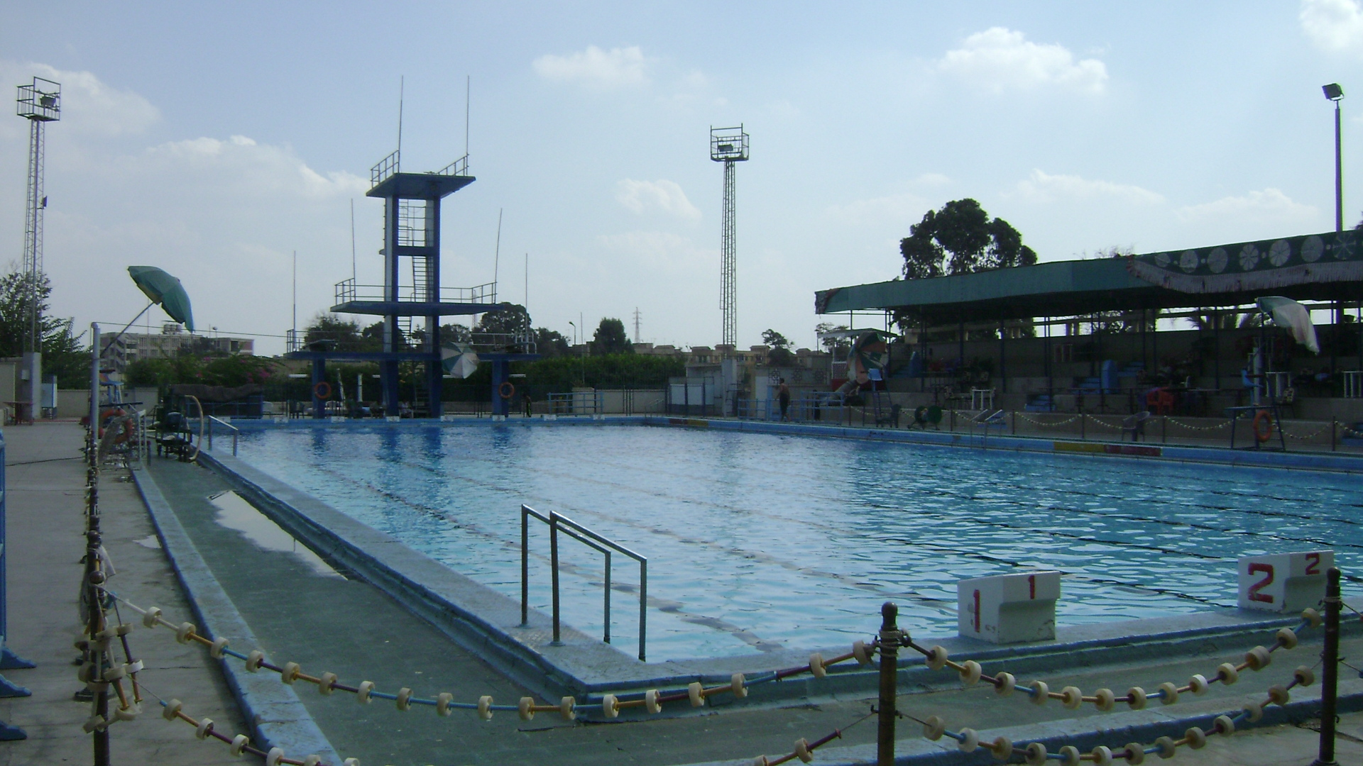 حمامات سباحة في مصر from photos.wikimapia.org