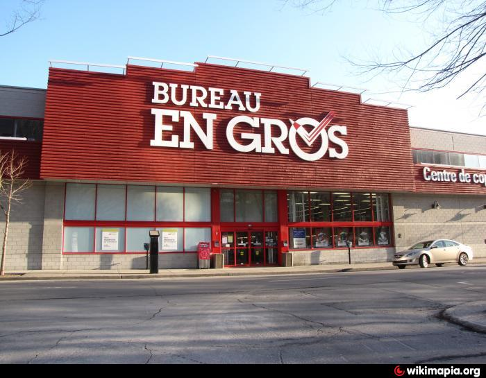 bureau en gros staples greater montreal area