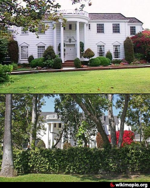 Big Houses In Los Angeles California: 251 North Bristol Avenue
