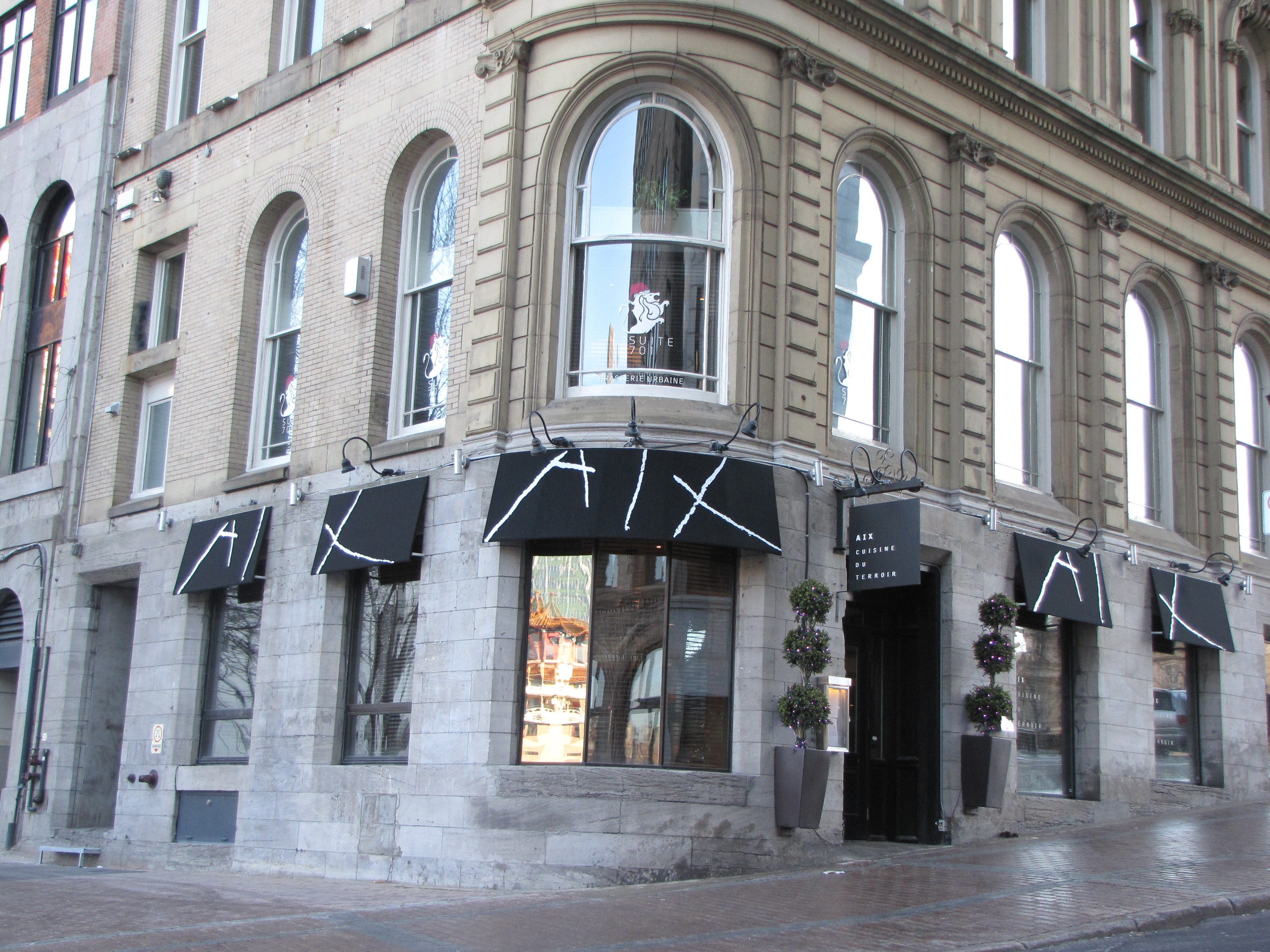Aix quebec cuisine montreal for Aix cuisine de terroir