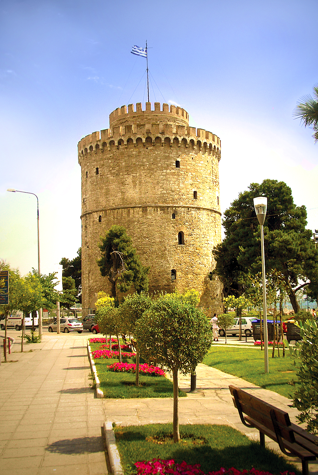 White Tower Square - Thessaloniki