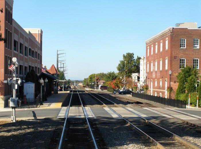 Manassas Va Train Station Manassas Virginia