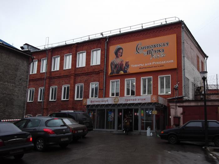 магазин семеновская пряжа кострома