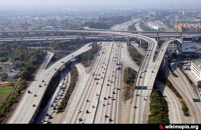 I 405 i 10 junction los angeles california i 405 i 10 junction sciox Choice Image