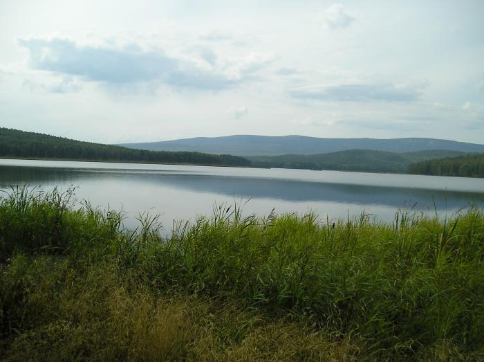 озеро серебры рыбалка