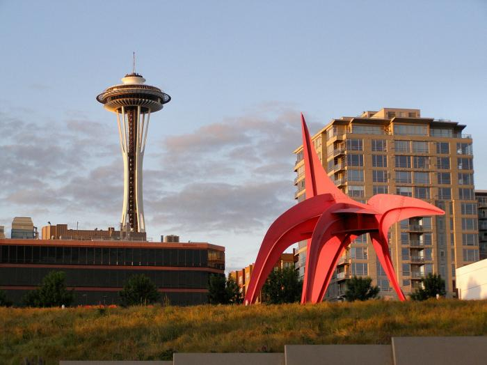 Olympic Sculpture Park Seattle Washington