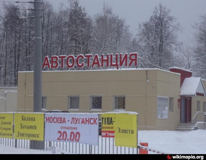 Где находится автостанция варшавская