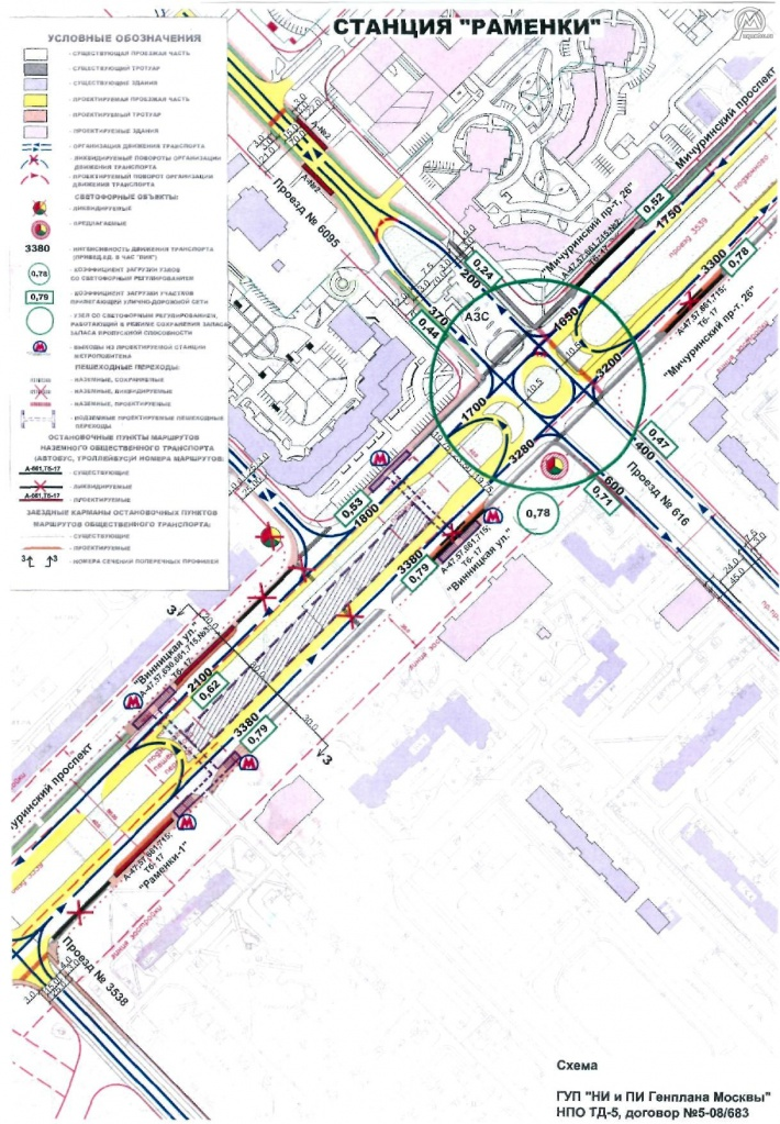 Строящаяся станция метро «