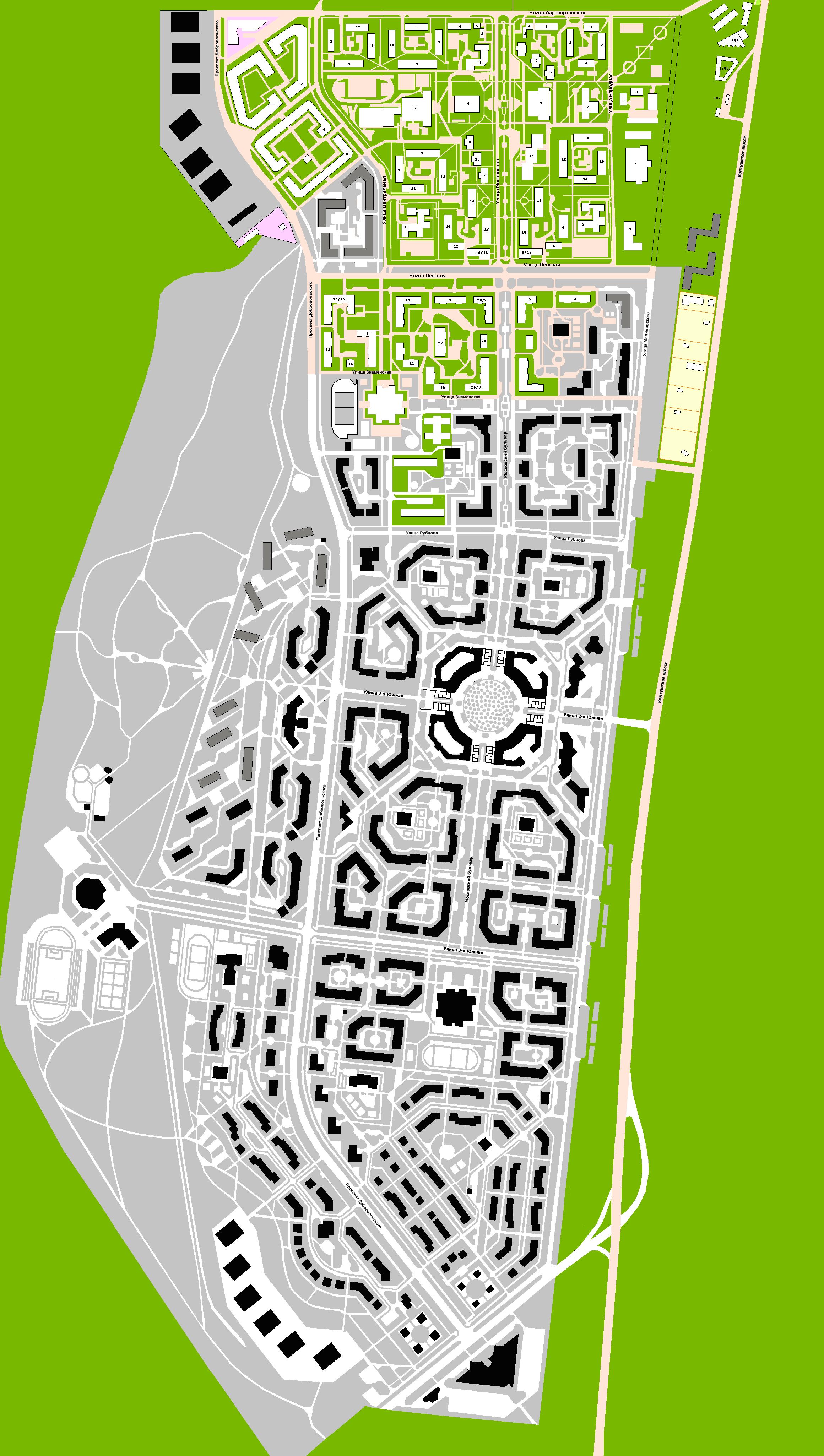 Всеволожск - информация о городе и районе.  Карты Всеволожска и Всеволожского района.