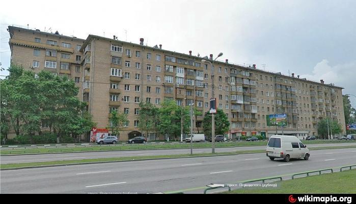 фото проспект вернадского
