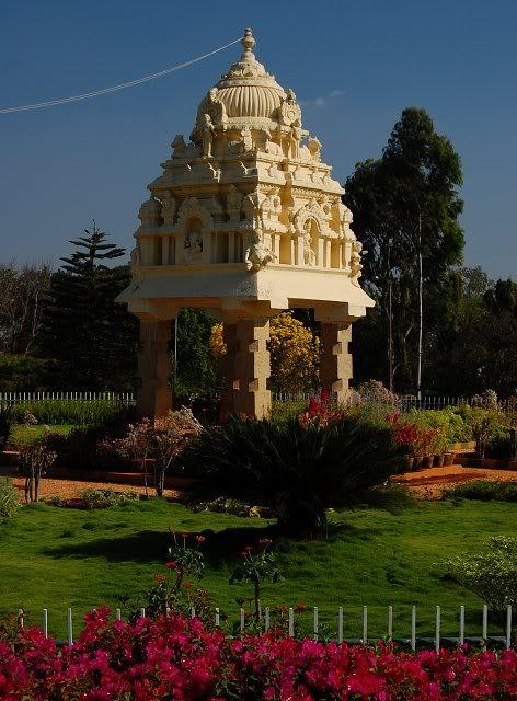 Kempe Gowda Tower Park in Bengaluru. Image Source: Wikimapia