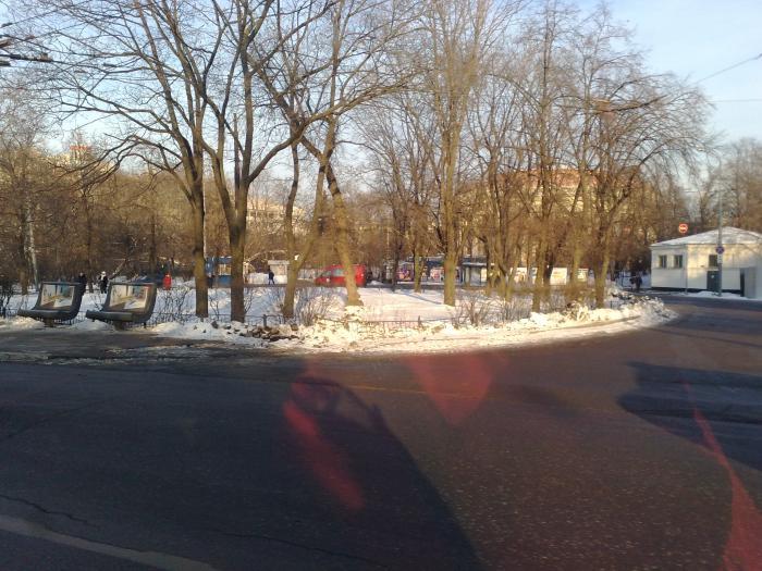 автобусная станция в выхино: