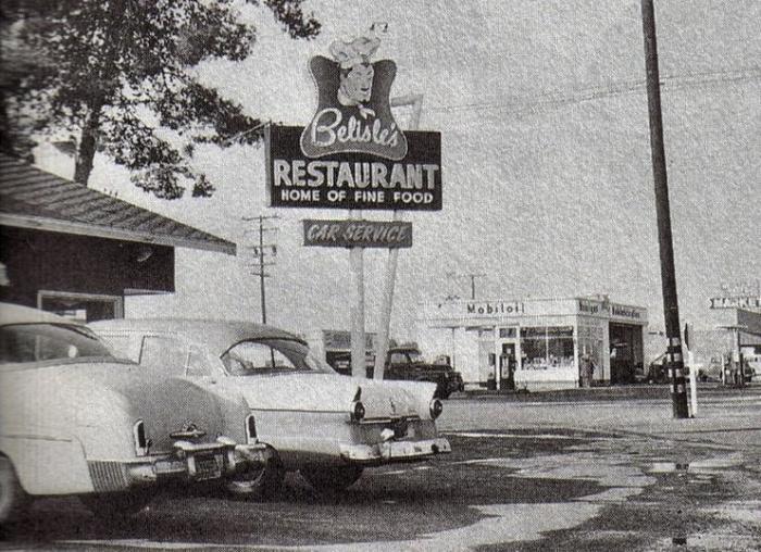 Former Site Of Belisle 39 S Restaurant 1955 1995 Garden