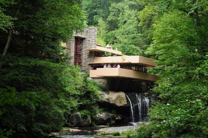 Maison sur la cascade for Maison cascade