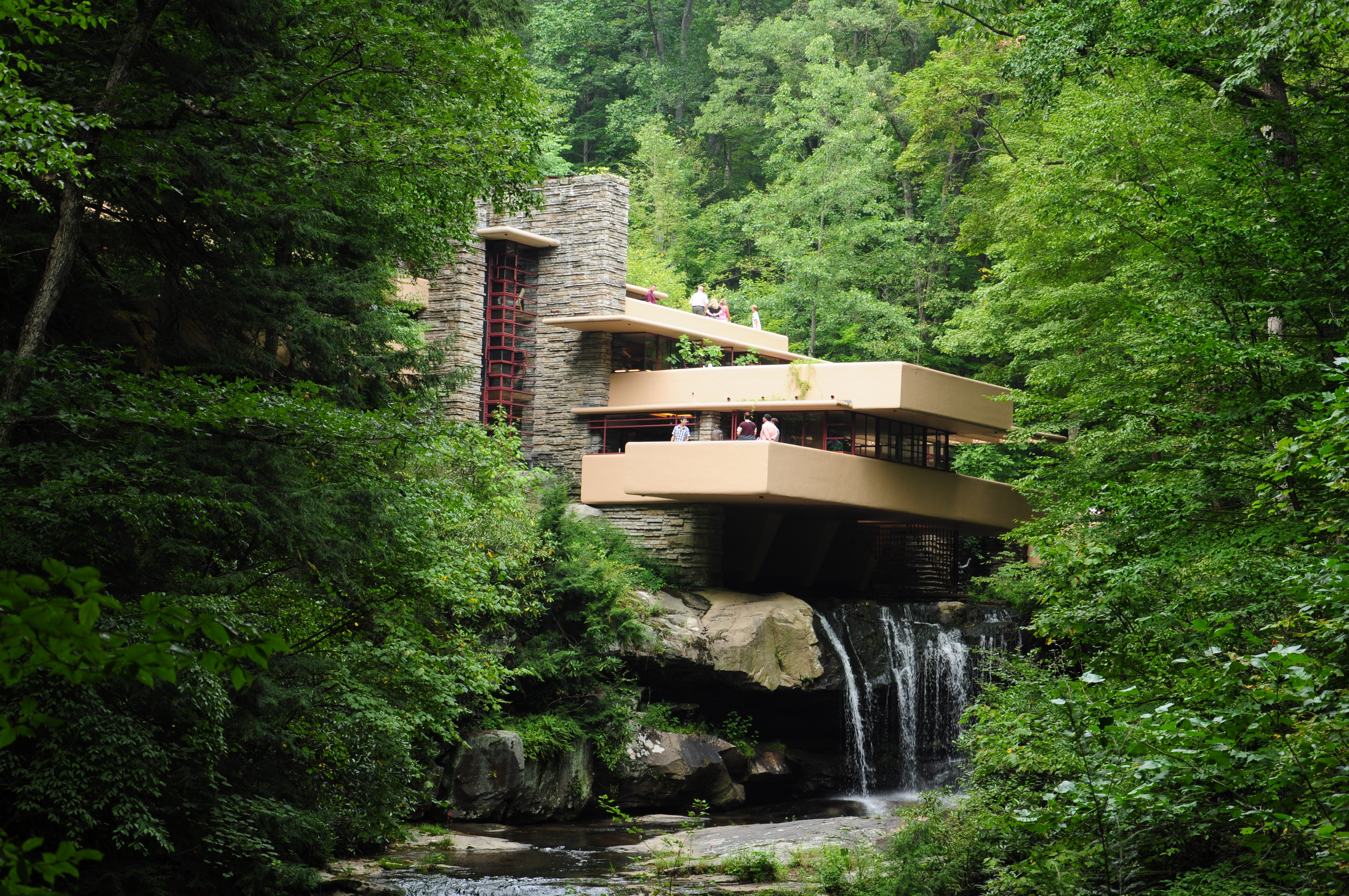 Fallingwater - La maison sur la cascade frank lloyd wright ...