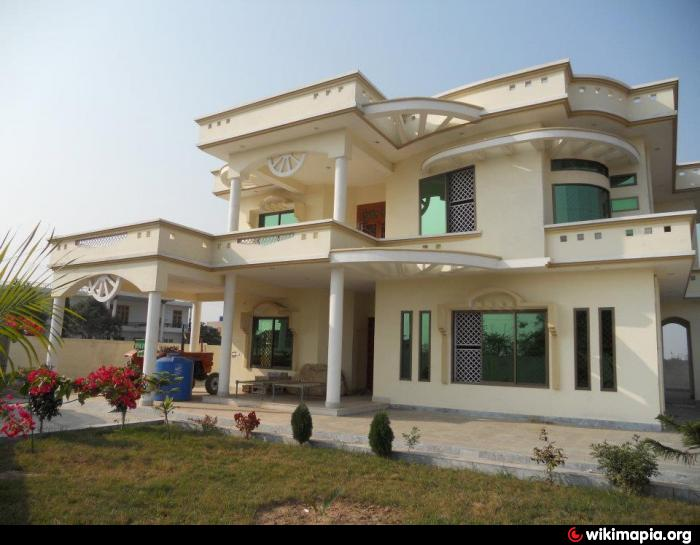 Muhammad asif and majid house for Beautiful house maps in pakistan