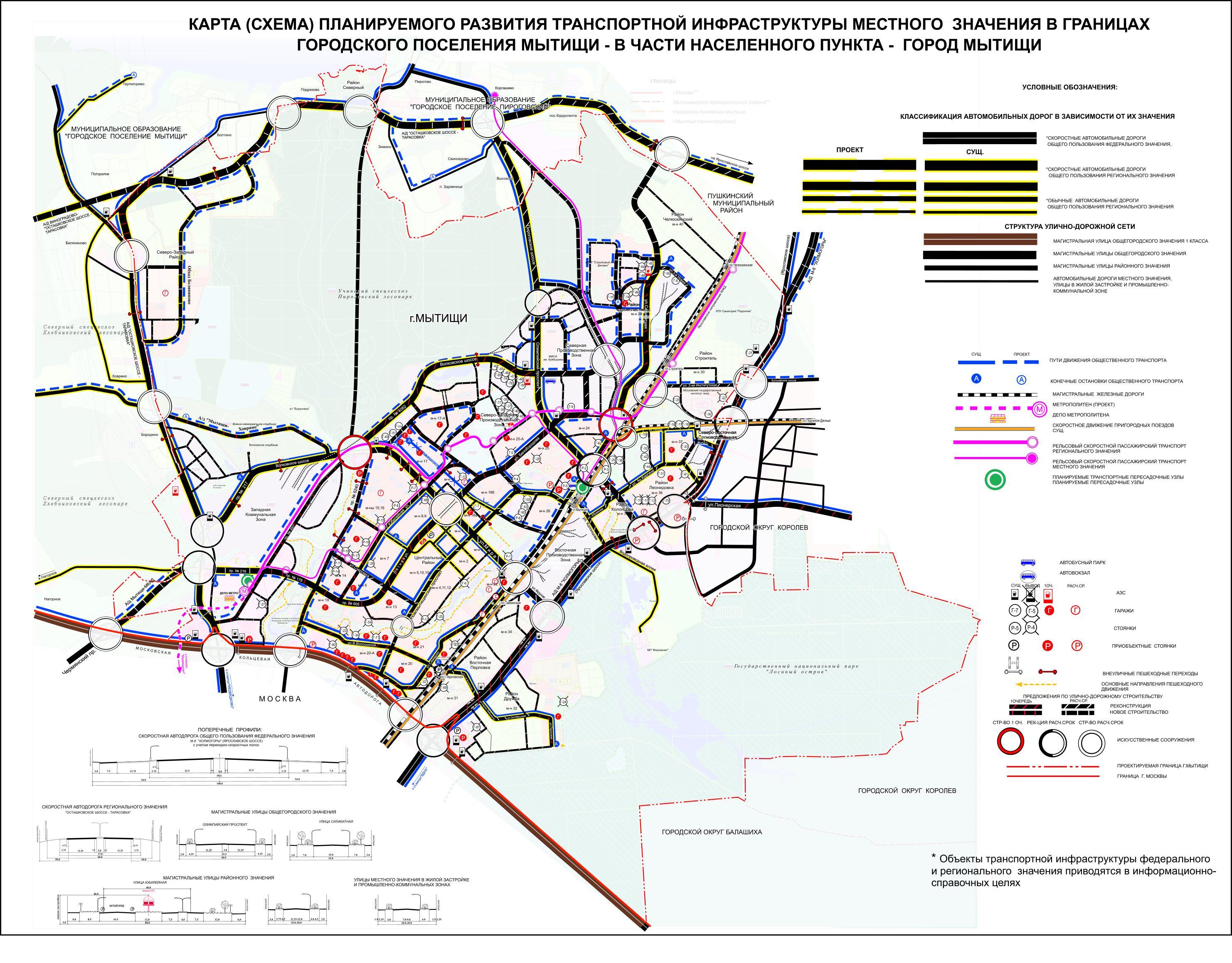 Карты (схемы) ГП Мытищи в части населенного пункта г. Мытищи.