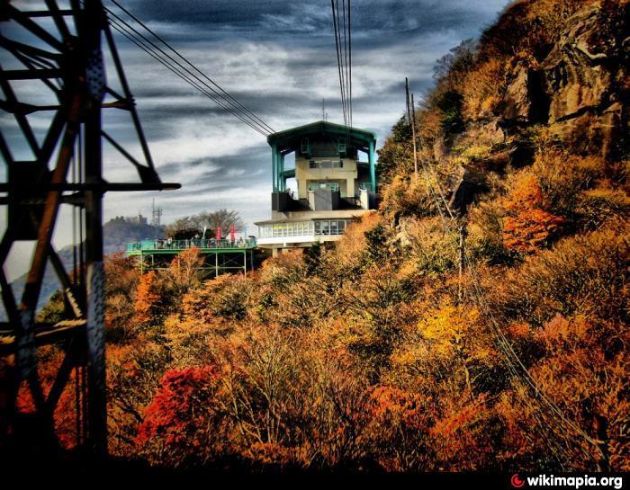 Mt.Tsukuba Ropeway Nyotaisan station