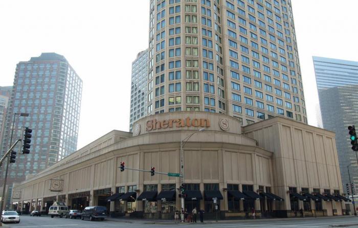 sheraton grand chicago hotel chicago illinois. Black Bedroom Furniture Sets. Home Design Ideas
