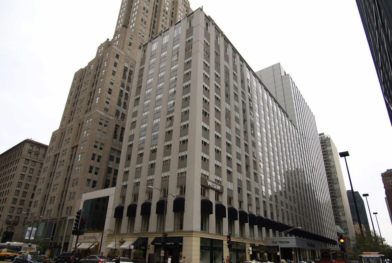 The westin michigan avenue chicago illinois for Avenue hotel chicago