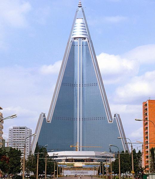 Ryugyong Hotel - Pyongyang