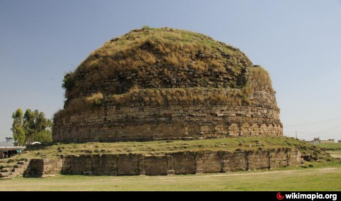 Mankiala Stupa Buddhist Archaeological Site