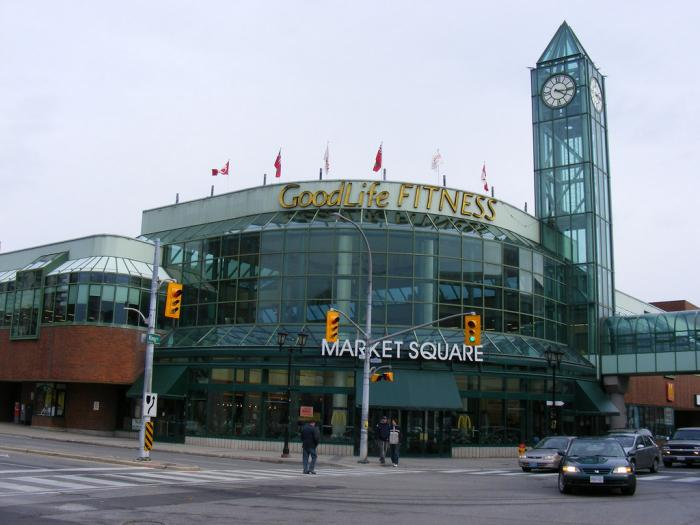 centre in the square kitchener ontario canada limited