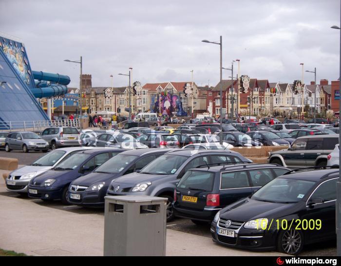 St annes beach car park