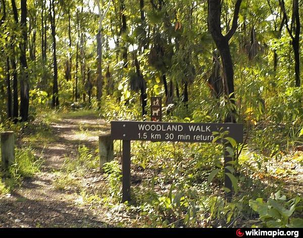 Holmes Jungle Nature Park Map