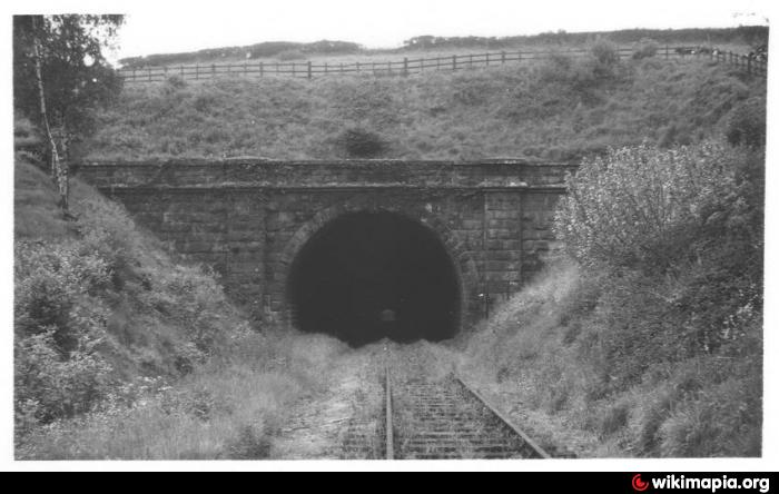 Disused Railway Tunnel On The Former Severn Bridge Line