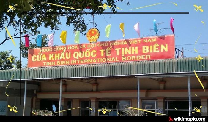 Image result for cửa khẩu tịnh biên