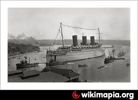 RMS Empress of Britain(wreck) | ship, shipwreck