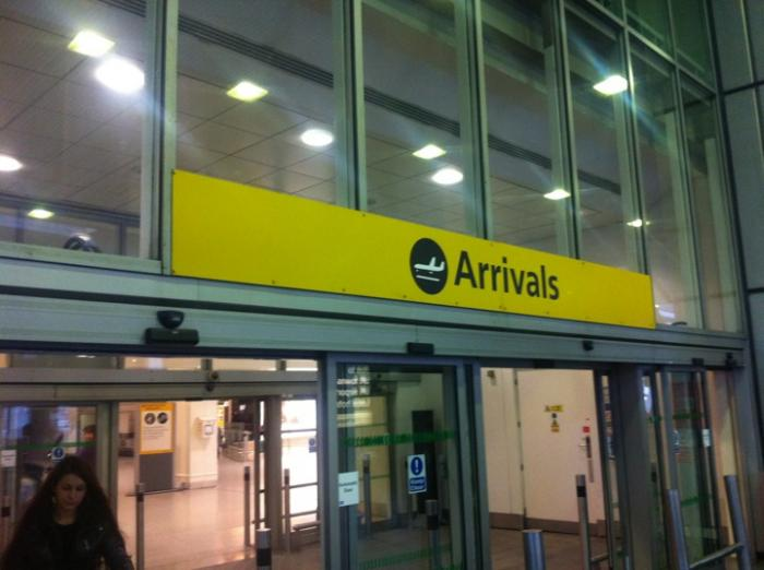 london heathrow arrivals