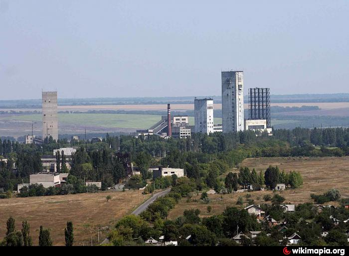 Казачье командование взяло функции руководства города Стаханова Луганской о