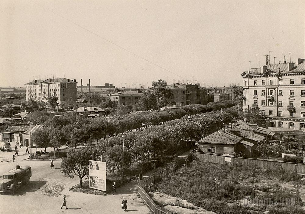 Фотогалерея Подольска - Подольск.  Ревпроспект, 1957 г.