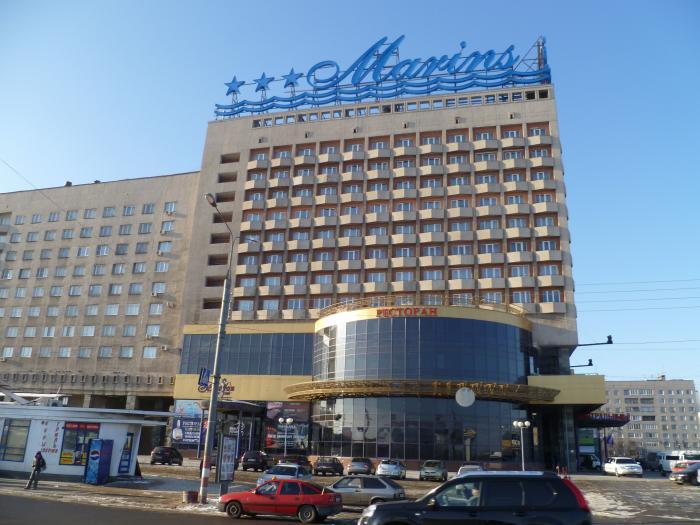 гостиница маринс парк отель нижний новгород