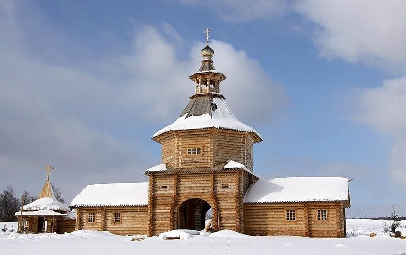 Antip-anka Гремячий ключ гремячий ключ зима природа святой источкин.