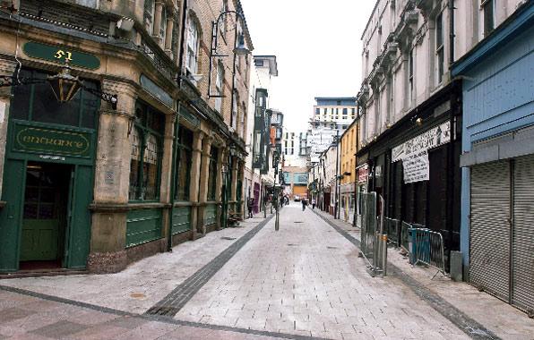Caroline Street Cardiff Caroline Street Chip Alley