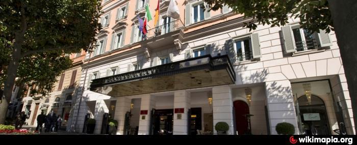 Jumeirah Grand Hotel Via Veneto 5 Rom Hotel