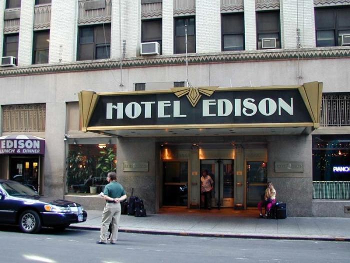 Hotel Edison New York City New York