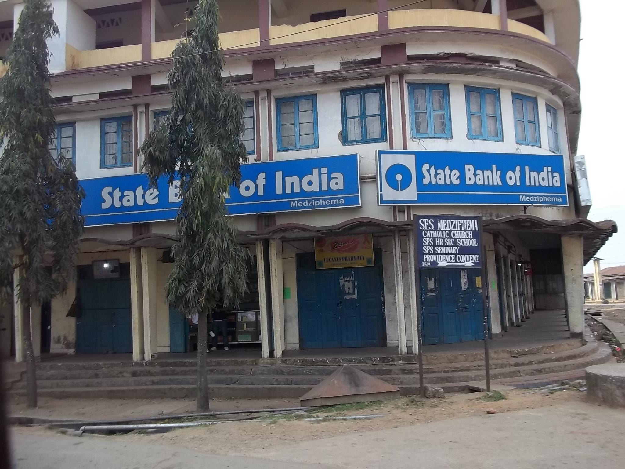 State Bank Of India Medziphema Town