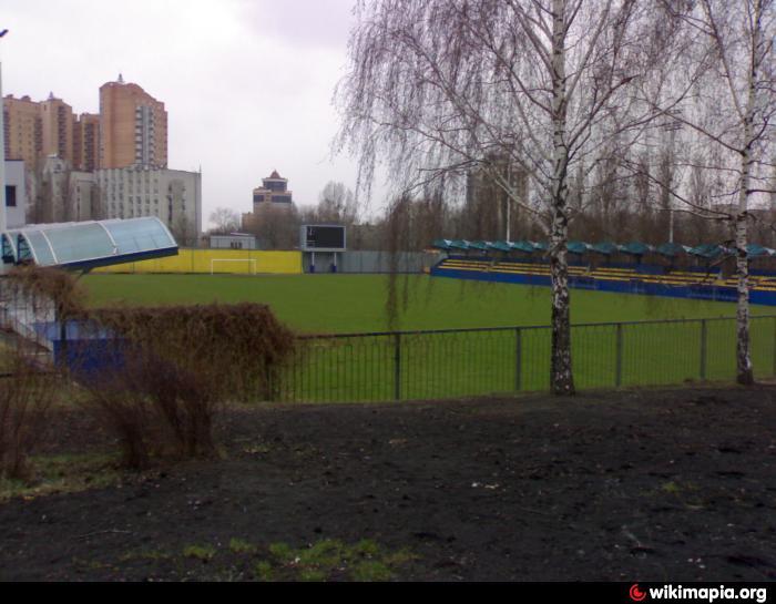 bannikov stadium kyiv football soccer stadium green