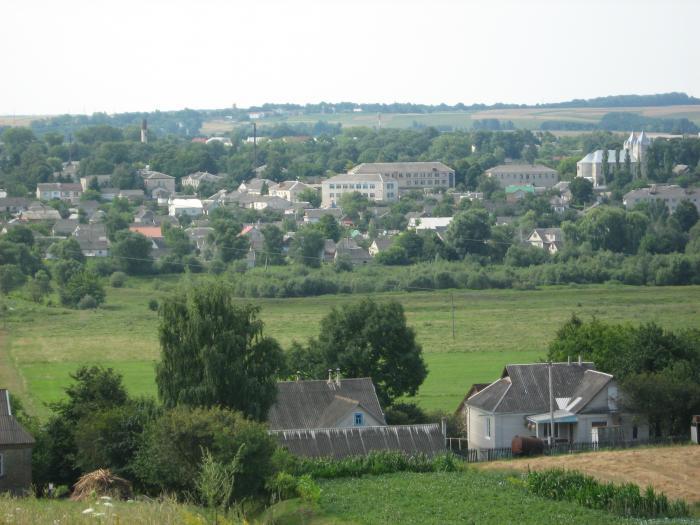 тернопольская область города