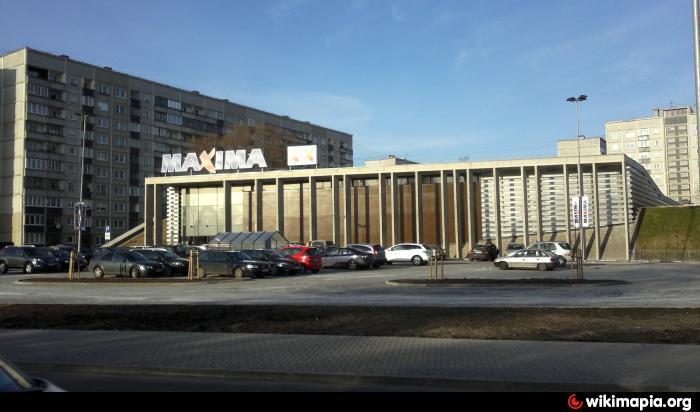 Former Shopping Centre Quot Maxima Xx Quot Riga Priedaines
