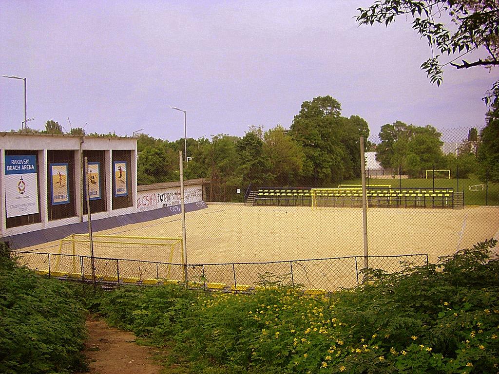 Игрище за плажен футбол раковски