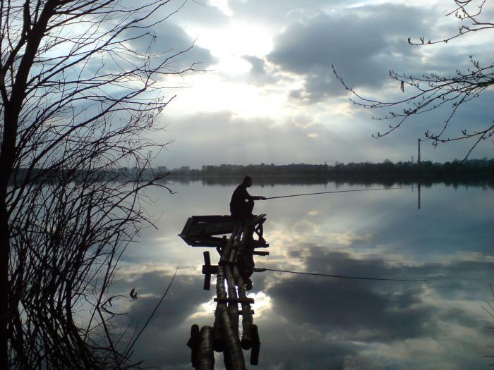 киев озеро алмазное рыбалка