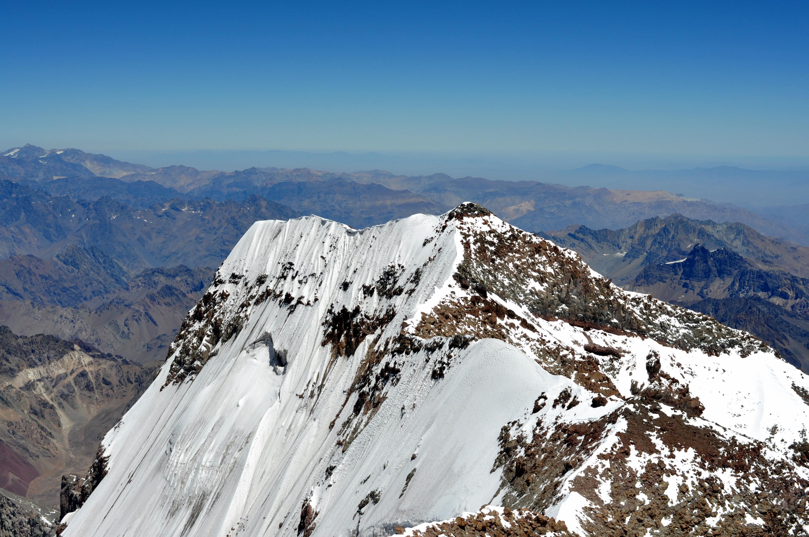 Mount Aconcagua (6,962 mts / 22,841 ft)