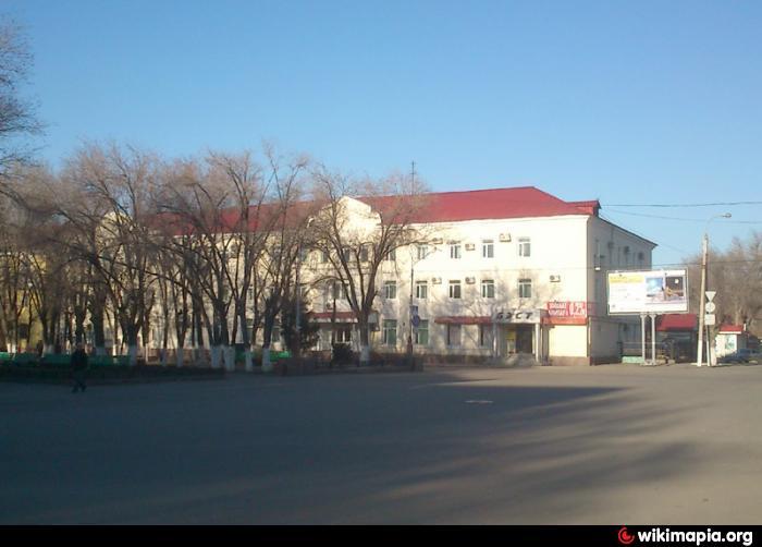 Карта Жезказгана С Улицами